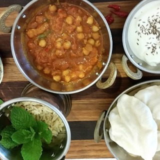 Chickpea-Curry